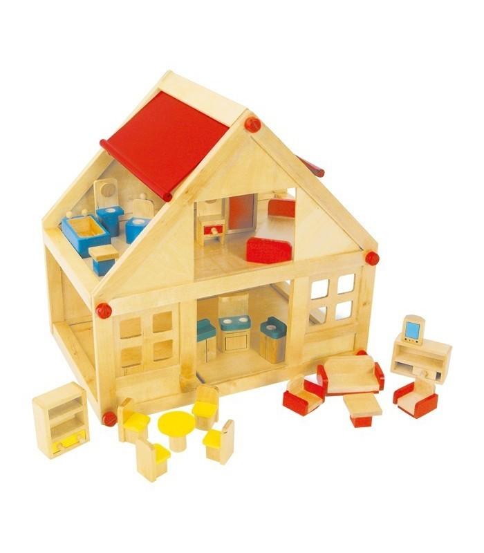 poppenhuis met meubeltjes speciaal4kids