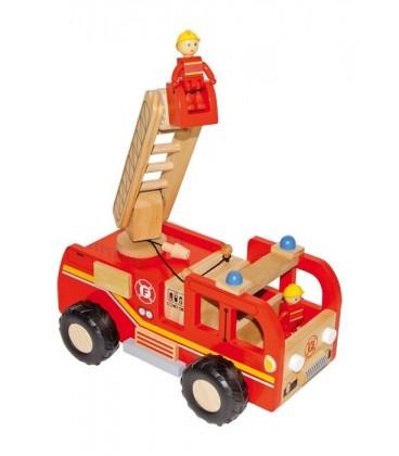 Stevige brandweerauto