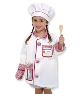 Melissa and Doug verkleedkleding Chef kok