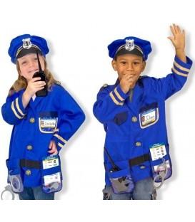 Melissa and Doug verkleedkleding Politieagent