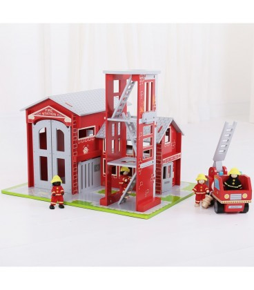 BigJigs Brandweerset helemaal compleet