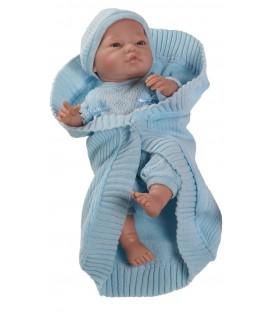 Paola Reina babypop Bebito blauw
