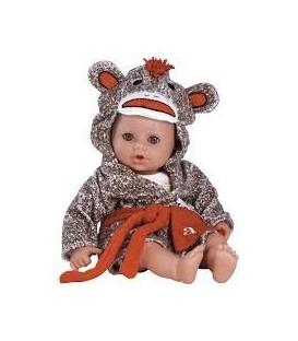 Adora Bath Time Baby Sock Monkey