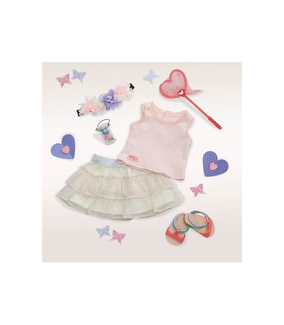 Our Generation deluxe outfit A Butterfly Moment