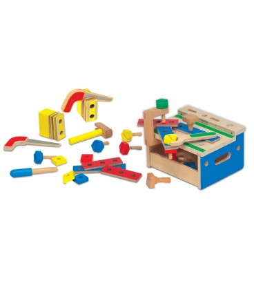 Melissa and Doug werkbankje