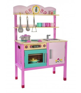Houten speelkeuken Little Chef's Kitchen van Play Circle 2