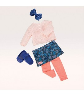 Our Generation outfit Fashionable Fluttery