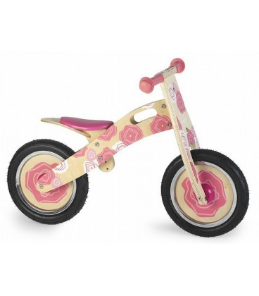 Loopfiets roze Simply for kids