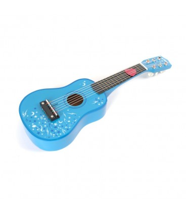 Tidlo blauwe gitaar