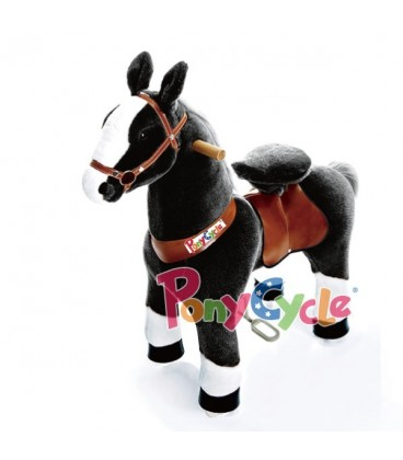 PonyCycle zwart. Kleine uitvoering