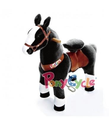 PonyCycle zwart. grote uitvoering