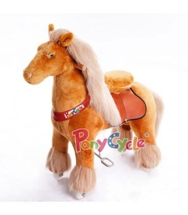 PonyCycle licht bruin grote uitvoering 2