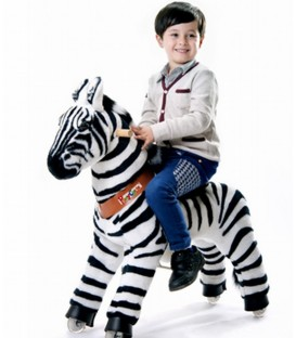PonyCycle Zebra grote uitvoering