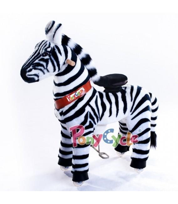 PonyCycle Zebra grote uitvoering 4