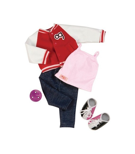 Our Generation outfit Gotta Bowl 1