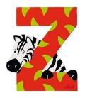 Sevi houten dieren letter Z