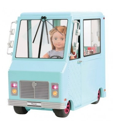Our Generation Sweet Stop Ice Cream Truck foto 1