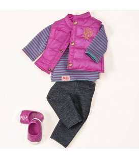 Our Generation Vest Friends Forever outfit