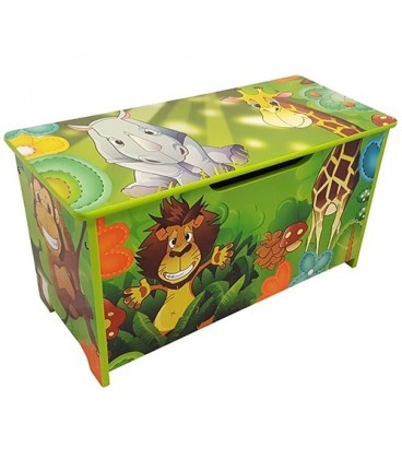 speelgoedkist Jungledieren