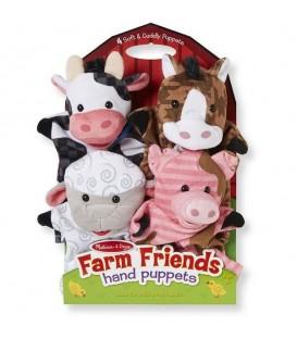 melissa and doug handpoppen boerderijdieren