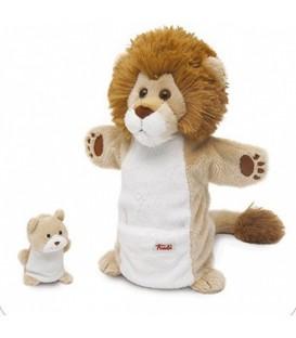 Trudi handpop Leeuw met welp