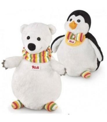 Trudi Handpop Duo IJsbeer Pinguin 22cm