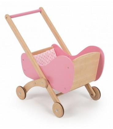 Tidlo houten poppenwagen