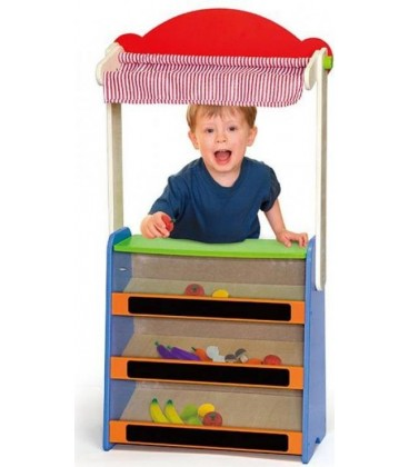 Viga Toys Theater & winkel - 21 delig