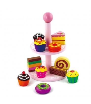 Viga toys Taartjesstandaard