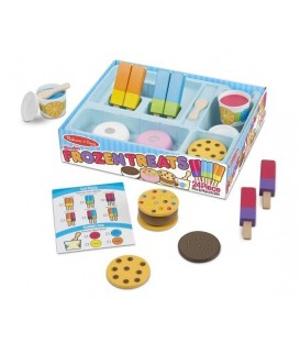 Melissa and doug set met ijsjes