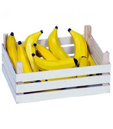 Houten kistje met bananen