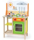Kinderkeuken Fantastic | Houten Kinderkeuken | met pannen | Viga Toys