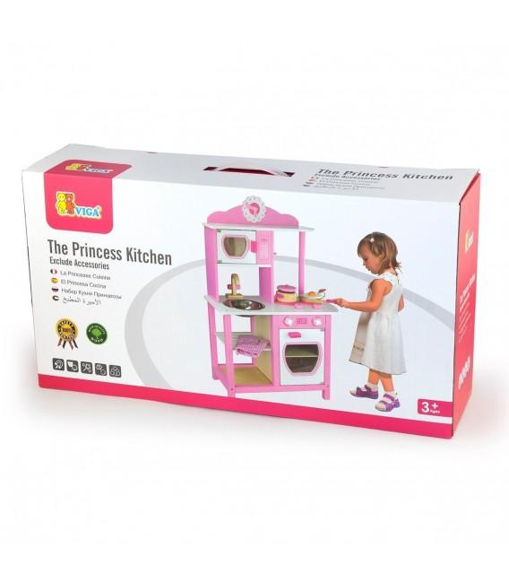 Viga Toys houten keuken prinses foto 2