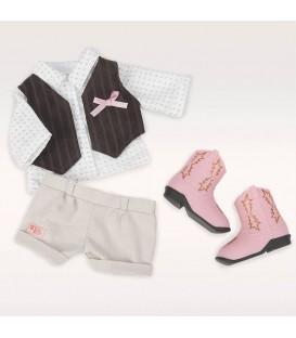 Our Generation poppenkleding-set Giddy Up! 2