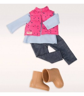 Our Generation poppenkleding-set Trekking Star
