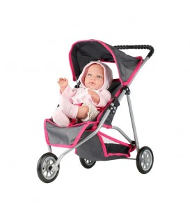 Mini Mommy Poppenwagen Jogger