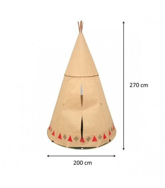 speeltent Teepee Indianen Tent foto 2