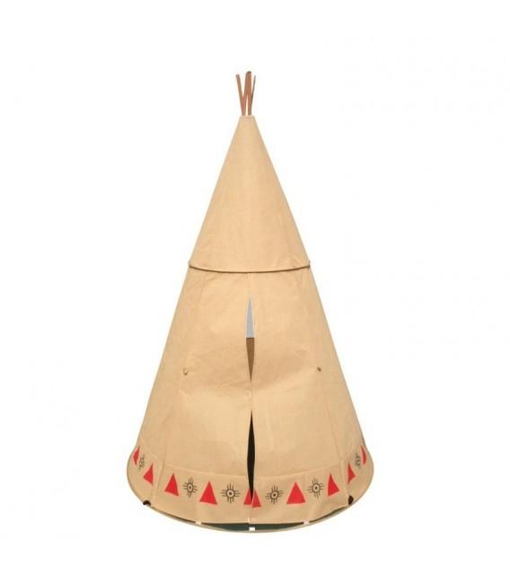 speeltent Teepee Indianen Tent foto 3
