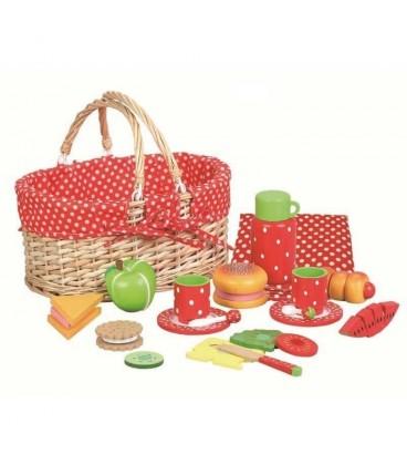 Mamamemo picknickmand vol met eten