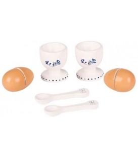 Mamamemo eieren met eierdopjes