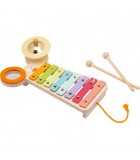 Sevi Xylofoon met Activiteiten Muis