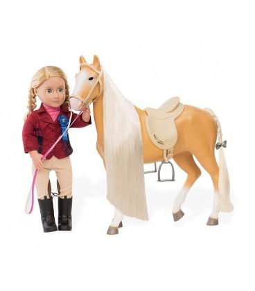 Our Generation Paard Lusitano met haar accessoires