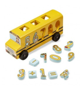 Houten speelgoed | rekenbus | Melissa and doug