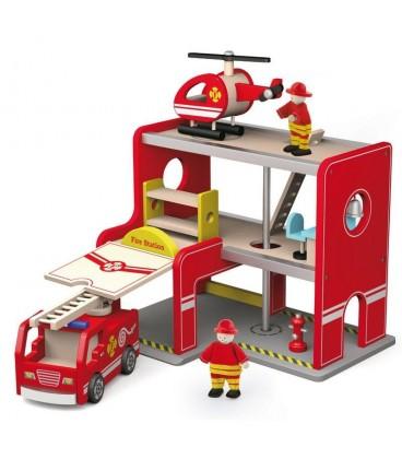 Viga toys brandweerset