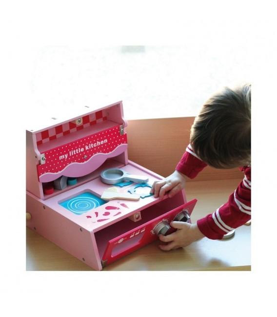House of Toys inklapbaar speelgoedkeuken