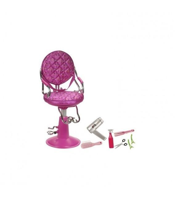 Our Generation Haargroei Phoebe + kappersstoel