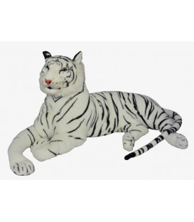 Witte tijger knuffeldier mega groot, 180 cm