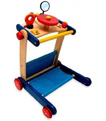 I'm toy  walker-Activiteiten Duw- Loopwagen met Stuur