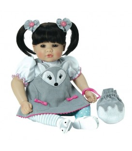 Adora ToddlerTime Baby Silver Fox