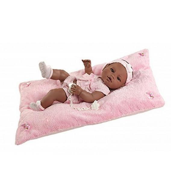 Berbesa pasgeboren-donkere pop-roze deken